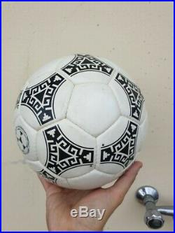 Adidas Vintage Azteca Ball World Cup 1986 Mexico Made In France