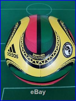 Adidas Wawa Aba Africa Cup Of Nations 2008 Authentic Match Soccer Ball Footgolf