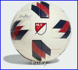 Adidas White/Red 2018 MLS All-Star Game Soccer Ball, Nativo Authentic ball