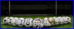 Adidas World Cup Historical Soccer Ball Set Size 5 Beckham Maradona Zidane Pele