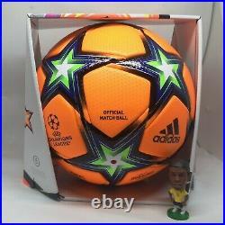 Adidas football Champions League Pyrostorm Winter ball HA0480 size 5 with box