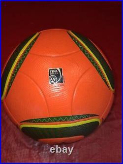 Adidas jabulani football Orange Liga Sagres Real Used Football Footgolf