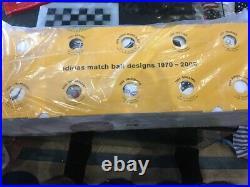 Adidas world cup historical mini ball set