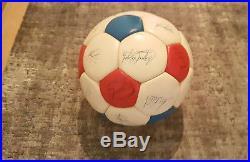 Alter adidas Fussball aus den 70er Jahren Tricolore matchball world cup