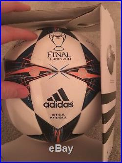 Authentic Adidas Champions League 2014 FINAL Lisbon Official Match Ball Bnib