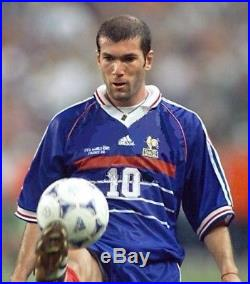 Authentic Tricolore 1998 Equipment World Cup Match Adidas Players Ball