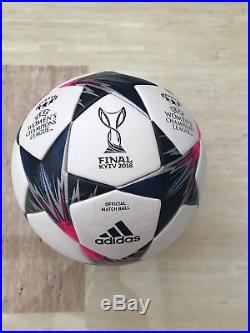 B New Adidas Women's Champions League Final Kiev Football Match Ball FIFA OMB