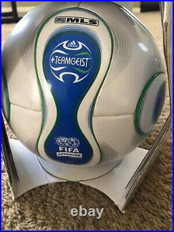 Brands New Adidas TEAMGEIST 2007 MLS FIFA Approved