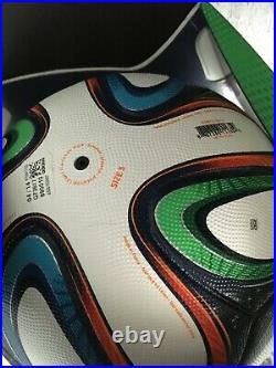 Brazuca Official Match Ball 2014 Brasil World Cup in its original box