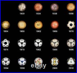 COMPLETE FIFA WORLD CUP MATCH BALL COLLECTION (20 Balls) Size 5