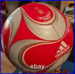 Calcio Pallone Official Adidas Teamgeist Match Ball Olimpiadi Pechino 2008 Campo