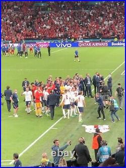 EURO 2020 Finale Uniforia Official Match Ball From Wembley, England vs Denmark