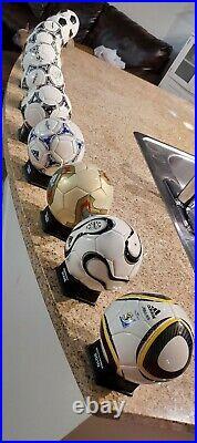 FIFA World Cup Mini Ball Adidas Collection (1970-2010)