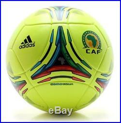Fussball Adidas Comoequa Matchball CAF Africa Cup 2012 Gabun OMB. Spielball