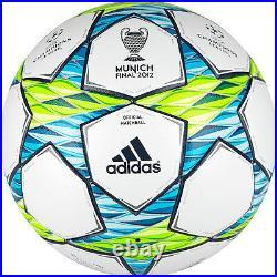 Fussball Adidas Final Munich 2012 OMB Matchball Champions League Spielball