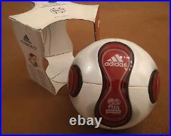 Fussball Teamgeist rot Adidas matchball neu