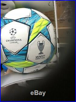 Genuine Adidas Finale Munich Official Match Ball Champions League Final 2012