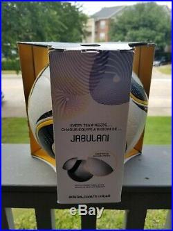 Jabulani Offical Match Ball 2010 World Cup with box