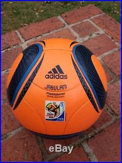 Jabulani Powerorange Fifa World Cup 2010 Adidas Soccer Match Ball Footgolf