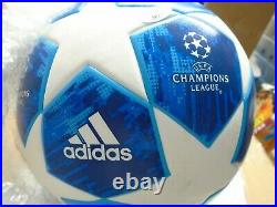 Lionel Messi Signed Adidas UCL Match Replica Soccer Ball ICONS JSA