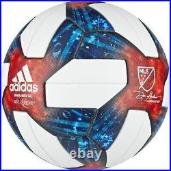 Lot of 6 Adidas 2019 MLS OMB Nativo Questra soccer ball size 5