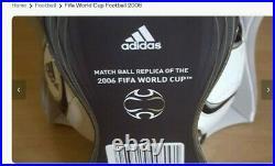 NEW BOXED ADIDAS 2006 Teamgeist x-mini Fifa replica world cup football