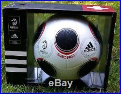Neu Adidas Matchball Europass UEFA EM 2008 Soccer Ballon Footgolf Ball Voetbal