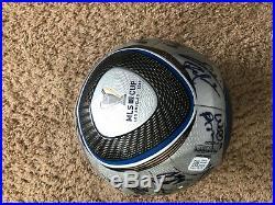 New Adidas MLS Jabulani MLS Cup 2011 Finalist Signed Ball Rare