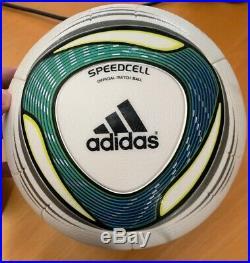 New Adidas SPEEDCELL Match ball Soccer Jabulani Torfabrik Footgolf JFA J League