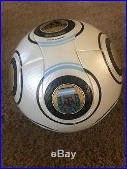New Adidas TeamGeist AFA Match Ball Rare Footgolf