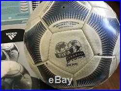 New Adidas Terrestra Euro 2000 Original Ball FIFA Approved Made in Morocco
