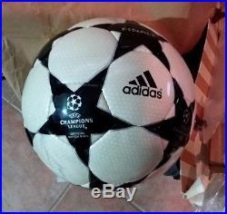 ORIGINALE ADIDAS MATCH BALL CHAMPIONS LEAGUE FINALE 2002 Manchester Black Star