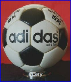 ORIGINAL ADIDAS Telstar Durlast World Cup 1974 MADE IN FRANCE