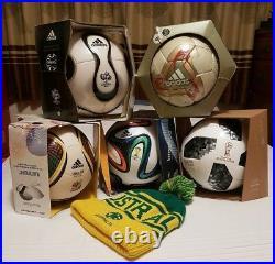 Official Fifa World Cup Soccer Football Ball Collection Adidas 2002 2018