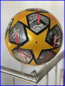 Original Adidas MatchBall Champions League 2021 Sample 100% Original Selten
