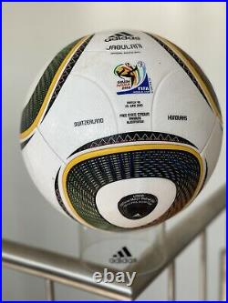 Original Adidas Match used Ball Jabulani World Cup 2010 Sehr Sehr Sehr Selten