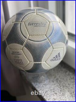Original Adidas Match used Terrestra 2001 WM Quali
