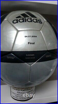 Pallone Adidas Roteiro Europeo 2004 Finale Final Imprint
