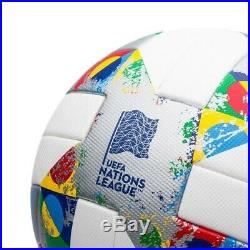 Soccer Football adidas UEFA Nations League OMB Size 5 White Official Match Ball