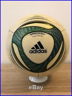 Speedcell, Jabulani used soccer balls