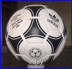 Tango Espana 1982 Adidas Modern Re-Issue Leather Ball-Soccerball Size 5