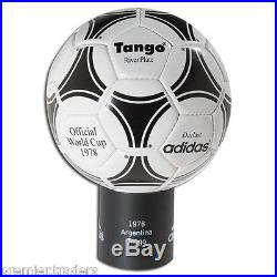 Tango River Plate 1978 Adidas Leather Football Soccer-ball-Reissue -Leather Ball