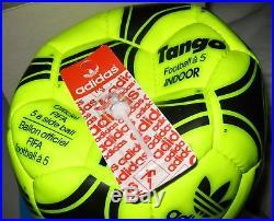 Vintage Adidas Tango Ball 70s Fußball Ballon Made France BOXED Indoor Matchball