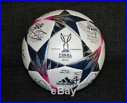 Women`s Champions League Finale Kyiv 2018 Wolfsburg Lyon NEU matchball adidas