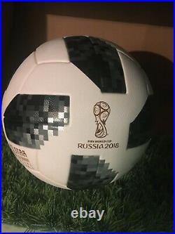 World Cup 2018 RUSSIA OFFICIAL MATCH BALL ADIDAS TELSTAR18 size 5 SOCCER ball