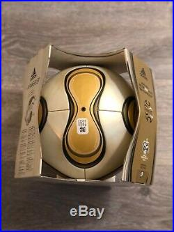 World Cup FINALS OFFICIAL MATCHBALL 2006 GERMANY +TEAMGEIST BY ADIDAS